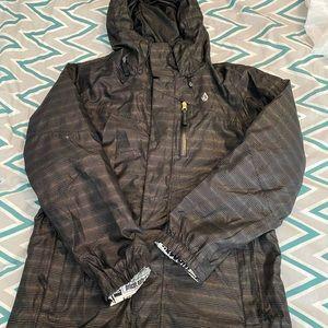Women's VOLCOM ski snow jacket sz L